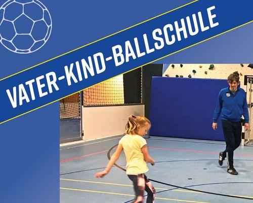 Noch freie Plätze bei der Vater-Kind Ballschule